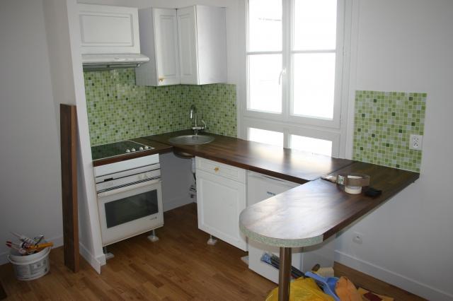 Cr ation d 39 un studio paris 75 for Amenagement cuisine studio